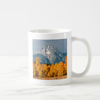 Park Moran In Autumn Wyoming Coffee Mug