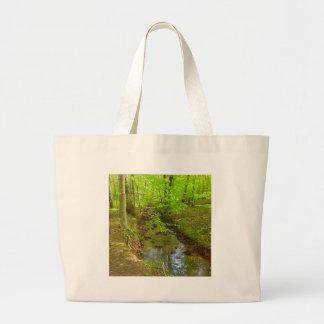 Park Stream Large Tote Bag