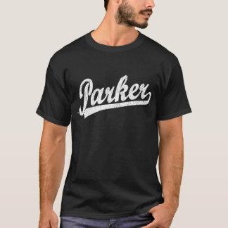 Parker script logo in white T-Shirt