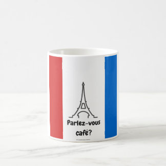 Parlez vous cafe? French Themed mug