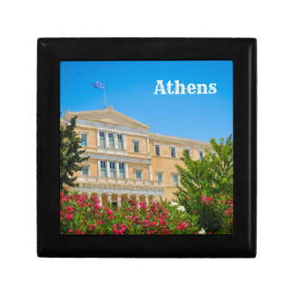 Parliament building in Athens, Greece Gift Box