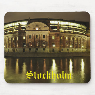 Parliament House (Riksdagshuset) in Stockholm Mouse Pad