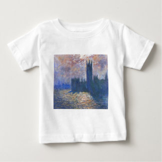 Parliament, Reflections on the Thames Claude Monet Baby T-Shirt