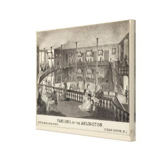 Parlors of the Arlington, Ocean Grove, NJ Gallery Wrap Canvas