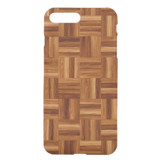 Parquet iPhone X/8/7 Plus Clear Case