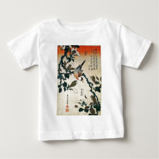 Parrot and Flowers Baby T-Shirt