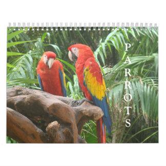 Parrot Calendar