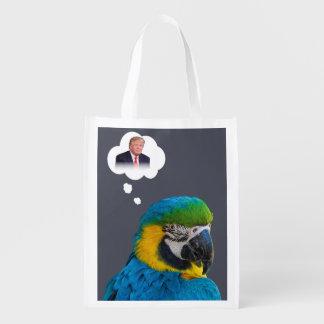 Parrot thinks of Trump Indigo Black Cloud
