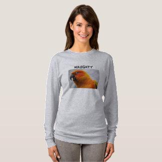 Parrot Women's Long Sleeve TShirt Conure Design