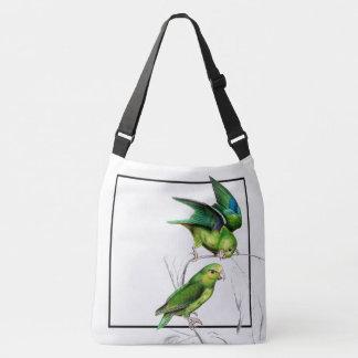 Parrotlet Birds Wildlife Animals Shoulder Tote Bag