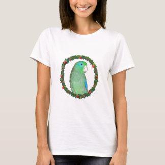 Parrotlet Christmas wreath T-Shirt