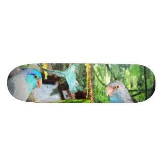 Parrotlet Jungle Rain Forest Skateboard Deck Art