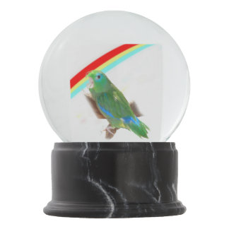 Parrotlet Snow Globe