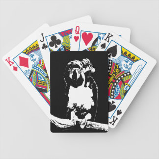 Parrot's Pirate Bicycle Playing Cards