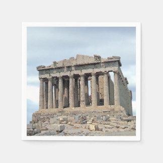 Parthenon 1 disposable napkin