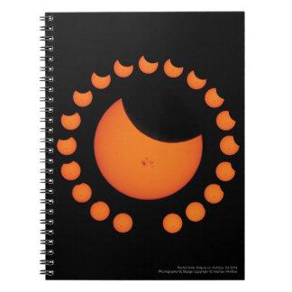 Partial Solar Eclipse Notebook