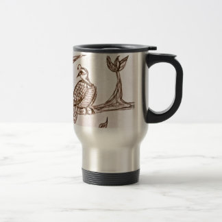 Partridge in a Pear Tree Travel Mug