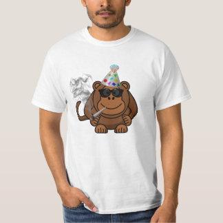 Party Animal Monkey Smoking Weed Funny t Shirt
