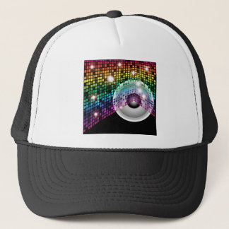 Party Background Trucker Hat