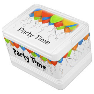 Party Balloons Theme Chilly Bin