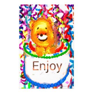 Party celebration stationery