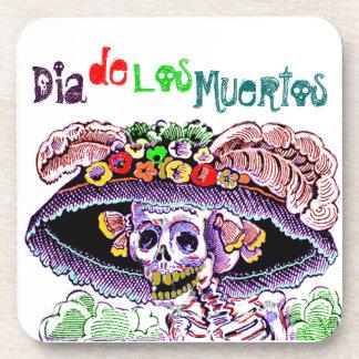 Party Coasters Dia de Los Muertos Day of the Dead