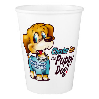 Party Cup From Chester Leo: The Puppy Dog!