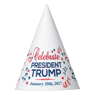 Party Hat Celebrate President Trump