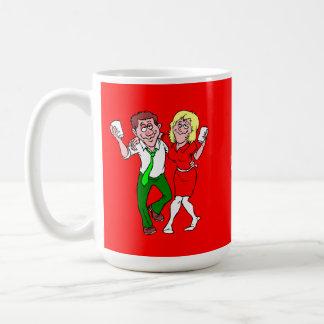 Party lovers basic white mug