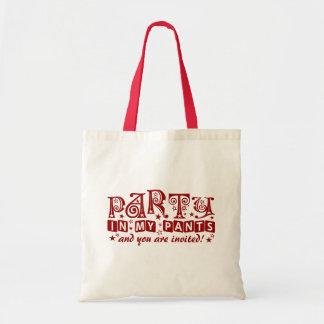 PARTY PANTS bag - choose style & color