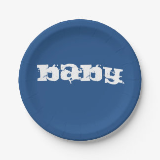 Party Plate by PaperWise 7 Inch Paper Plate