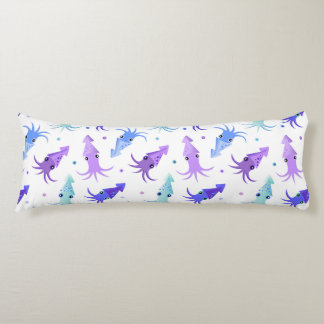 Party Squid Pattern Body Cushion
