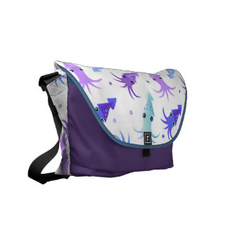 Party Squid Pattern Courier Bags