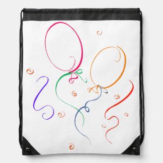 Party Time Drawstring Bag
