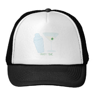 Party Time Mesh Hat