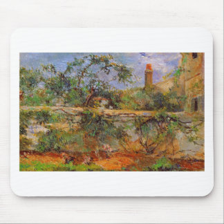 Party wall by Paul Gauguin Mouse Pad