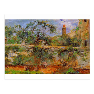 Party wall by Paul Gauguin Postcard