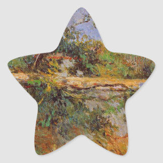 Party wall by Paul Gauguin Star Sticker