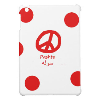 Pashto Language And Peace Symbol Design iPad Mini Case