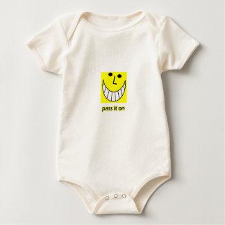 Pass it on baby bodysuit