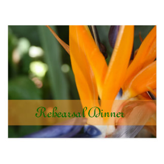 Passion in Paradise Rehearsal Dinner postcards