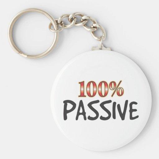 Passive 100 Percent Keychain