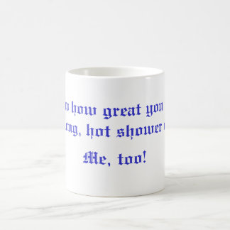 Passive-Aggressive Basic White Mug