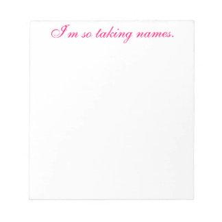 Passive-Aggressive Notepad