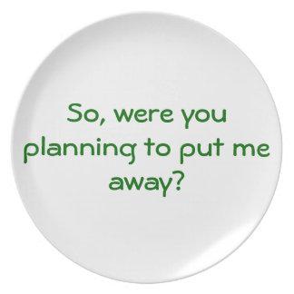 Passive-Aggressive Dinner Plates