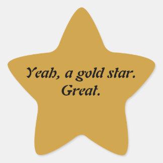 Passive-Aggressive Star Sticker