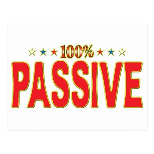 Passive Star Tag Post Card
