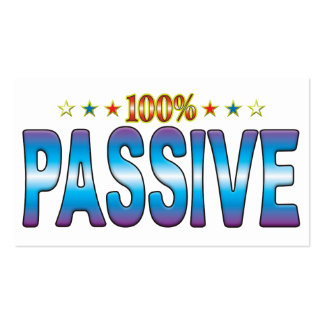 Passive Star Tag v2 Pack Of Standard Business Cards