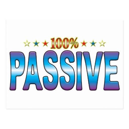 Passive Star Tag v2 Post Card