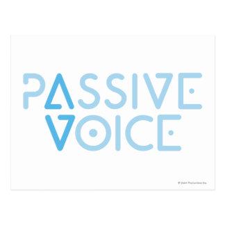 Passive Voice Postcard